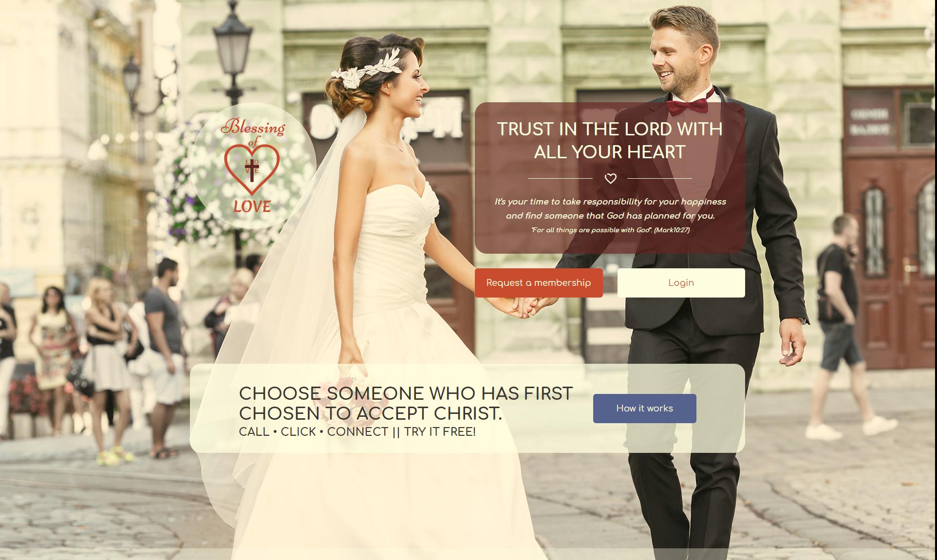 BlessingofLove - сайт знакомств для верующих